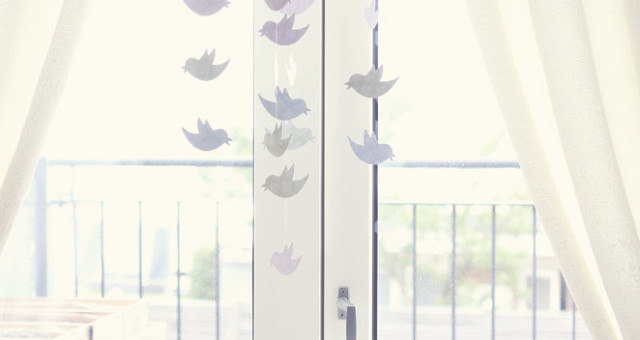 DIY: Birdie Mobile