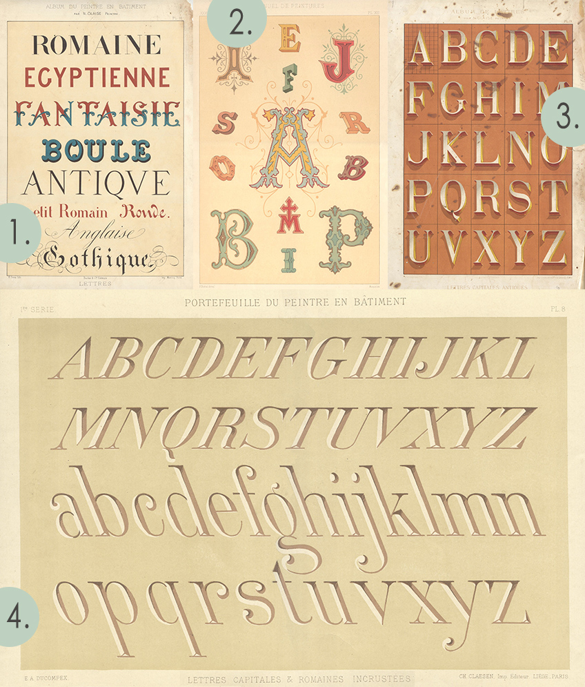 Tips & ideas on reference materials for lettering and graphic design by Annika Olsson // www.annikaolsson.com