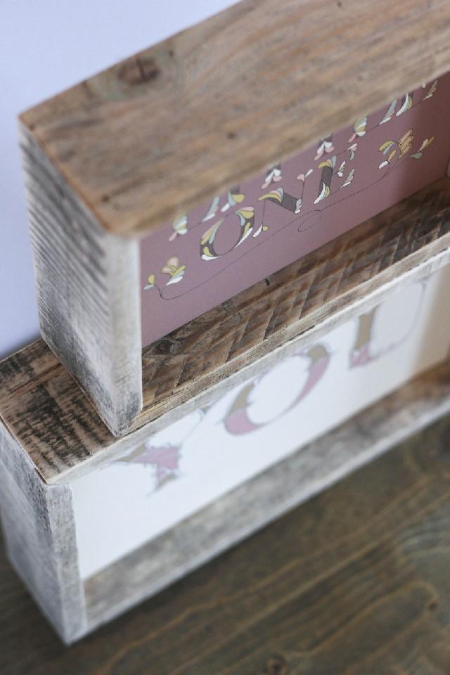 Byannika 187 Lettering Amp Design 187 Rustic Shadow Blocks